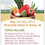 Save the date! and latest agenda!!