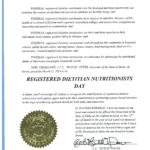 Governor Proclaims March 12th Registered Dietitian Nutritionists Day!