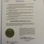 Registered Dietitian Day Proclamation