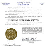 March is National Nutrition Month in Idaho