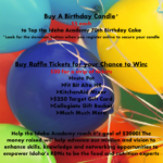 Don't Miss the BiGGEST RAFFLE of the Year!!!